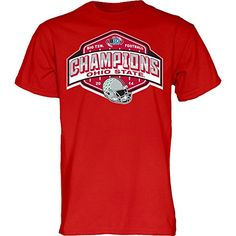 6197f8b10d0 Ohio State Buckeyes 2014 Big Ten Champs T Shirt - XL - red Buckeyes  Football