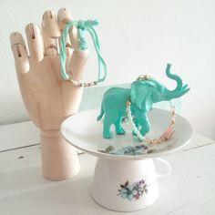 Diy jewelry elephant, by 'Buitenleven in de Binnenstad.'