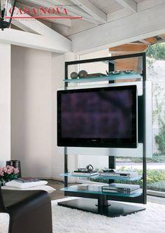 Porta tv a colonna Porada UBIQUA - Proserpio Arreda | Arredamento ...