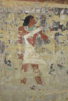 Pared Este en la tumba de Merefnebef.   por Soloegipto