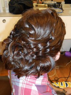 Prom hair by Rochelle Noone