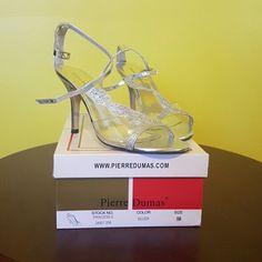 Silver Heels Silver Heels Pierre Dumas Shoes Heels