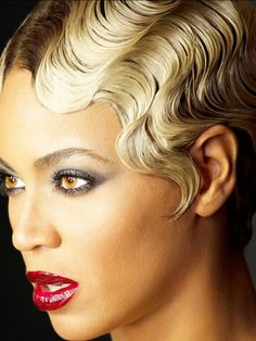 Beyonce Finger Waves Images & Pictures - Becuo