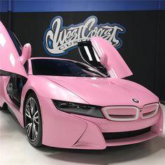 exotic cars pink ~ Hybrids And Electric Cars Pink Bmw, Pink Ferrari, Pink Lamborghini, Pink Cars, Luxury Car Brands, Luxury Sports Cars, Fancy Cars, Cute Cars, Honda