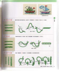 拼布教室(42)基礎刺繡針法技巧200