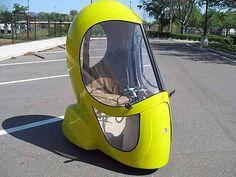 Eggasus, o carro elétrico em forma de ovo