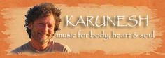 """Karunesh music for healing - """"Call of the Mystic"""" and """"Colors of the East"""" CDs are appropriate"""