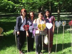 #Indigenous partners of @kairoscanada from Guatemala and Philippines show their solidarity at #TRCHeartGardens