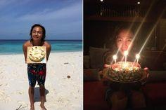Jang Geun Suk celebrates his birthday at the beach