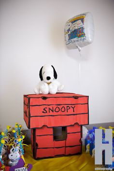 """Photo 1 of 53: Snoopy and the gang / Birthday """"Spencer's 1st Birthday PArty"""" 