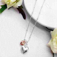 Marvellous Mum Hearts Necklace, £10.00