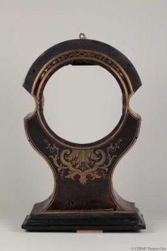 Mobilier XVIII ème Régulateur Boulle | caisse de pendule après démontage des bronzes
