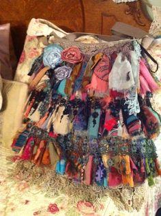 Shabby purse