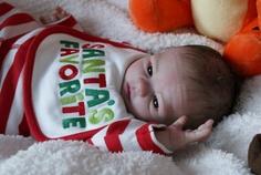 Christmas Reborn Baby Boy Dylan