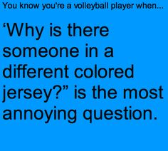 know you're a volleyball player when.You know you're a volleyball player when. New Sport Girl Volleyball Awesome Ideas Pegatina «Voleibol Ocean Volleyball Jokes, Volleyball Problems, Volleyball Workouts, Volleyball Drills, Fastpitch Softball, Volleyball Players, Libero Volleyball, Volleyball Training, Coaching Volleyball