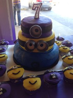Evil minions verses good minions. Was a fun party!! My son loved it!