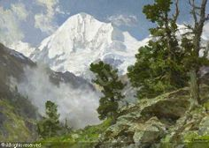 edward harrison compton paintings | COMPTON Edward Harrison,Blick auf die Königsspitze,Neumeister ...