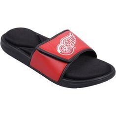 Detroit Red Wings Foam Sport Slide Shoes