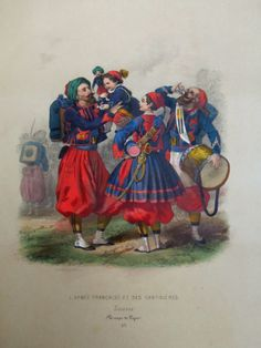 In the Swan's Shadow: L'Armee Francaise et ses Cantinieres, late 1850s.