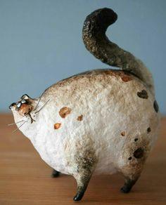 Смешной толстый кот  авт.Екатерина Гусева KatyaFairytailes