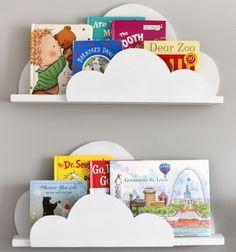 DIY Cloud bookshelf ledges - kids' room decor // Felhő alakú könyvespolc fából - gyerekszoba dekoráció // Mindy - craft tutorial collection