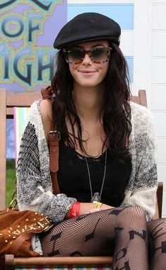 Kaya Scodelario Photos - Kaya Scodelario attends the Isle Of Wight Festival at Seaclose Park on June 2012 in Newport, Isle of Wight. - Isle Of Wight Festival - Day 3 Vetements Clothing, Isle Of Wight Festival, Vetement Fashion, Girl Fashion, Fashion Outfits, Kaya Scodelario, Cute Hats, Iconic Women, Caps For Women
