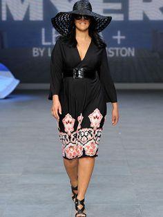 Myer 'big is beautiful' fashion show