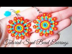 Kelly from Off the Beaded Path, in Forest City, North Carolina shows you how to do peyote stitch with Tila beads to make a bracelet We have materials used to. Seed Bead Earrings, Beaded Earrings, Seed Beads, Beaded Bracelets, Crochet Earrings, Perler Beads, Make Up Tutorial Eyeshadows, Make Up Tutorial Contouring, Beaded Jewelry Patterns