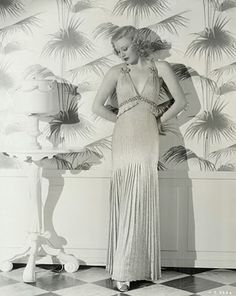 Ginger Rogers by Bernard Newman for Follow the Fleet in 1935 {via Silver Screen Modiste }
