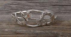 Navajo Silver Kokopelli Cuff Bracelet, Navajo Cuff Bracelet, Kokopelli Cuff Bracelet, Women's Bracelet, Vintage Gift Jewelry, Made In USA