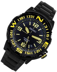 Seiko Mens Automatic Watch - In Stock, Free Next Day Delivery, Our Price: Buy Online Now Stylish Watches, Cool Watches, Seiko 5 Sports, Seiko Men, Automatic Watches For Men, Seiko Watches, Casio Watch, Smart Watch, Quality Watches