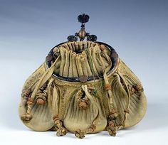 Purse, 16th century, French (leather),  Museo Nazionale del Bargello, Florence, Italy
