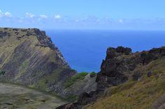 Rapa Nui (Easter Island) Rano Kau Volcano
