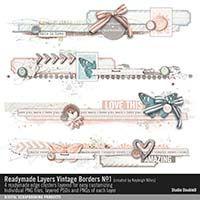 Readymade Layers: Vintage Borders No. 01