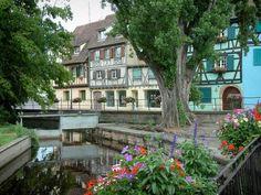 Colmar - La petite Venise -  Pont fleurie
