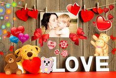 Create amazing Love collages!