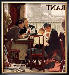 Saying Grace ~ Norman Rockwell