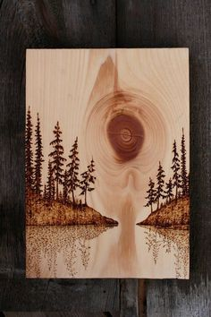 """40 Modest Examples of Paintings On Wood Planks - Buzz 2018 What """"Wood"""" you paint? What wood to use? Which paint to use? Here are modest examples of paintings on wood planks to help you get going! Wood Burning Tool, Wood Burning Crafts, Wood Burning Patterns, Wood Crafts, Wood Burning Projects, Diy Crafts, Woodworking Furniture Plans, Woodworking Projects Diy, Wood Projects"""