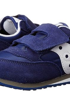 Saucony Kids Jazz Hook Loop (Toddler/Little Kid) (Cobalt Blue) Boys Shoes - Saucony Kids, Jazz Hook Loop (Toddler/Little Kid), ST35410A, Footwear Athletic General, Athletic, Athletic, Footwear, Shoes, Gift, - Street Fashion And Style Ideas