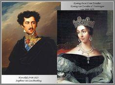 Oscar I King of Sweden & Josephine of Leuchtenberg
