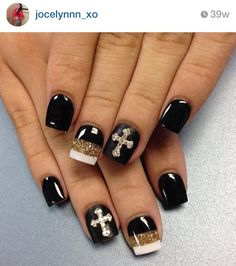 Nails pinteres butterflies poka dots and yes crossesi have to have my cross prinsesfo Images