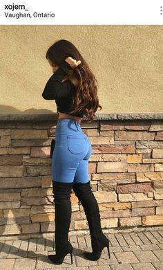 How to wear fall fashion outfits with casual style trends Sexy Outfits, Mode Outfits, Casual Outfits, Fashion Outfits, Womens Fashion, Fashion Heels, Fashion Boots, Female Outfits, Fashion 2018