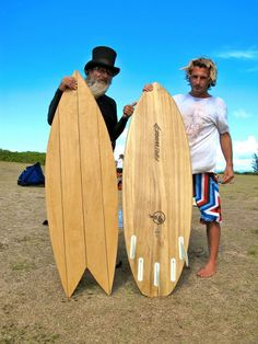 Firewire Surfboards with Felix Pivec and Top Hat (Hawaiian Legends)