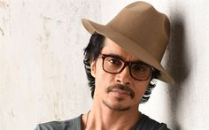 Download wallpapers Darshan Kumaar, 4k, portrait, Indian actor, brown mans cap, Indian celebrities