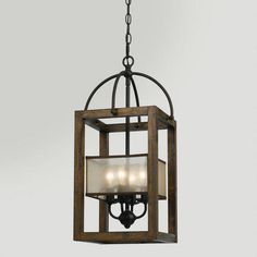 One of my favorite discoveries at WorldMarket.com: Mission Chandelier 269.99