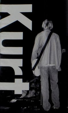Kurt Cobain- Poster I have? Music Is Life, My Music, Love You So Much, My Love, Kurt And Courtney, Find My Friends, Seattle Art Museum, Donald Cobain, Nirvana Kurt Cobain
