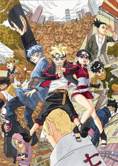 「BORUTO」 IN APRIL I CAN'T BELIEVED!!!! XD