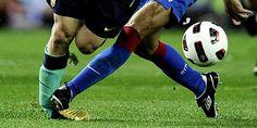 Como evitar una torcedura de tobillo en un futbolista