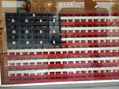KAPLA blocks on display for many US holidays.
