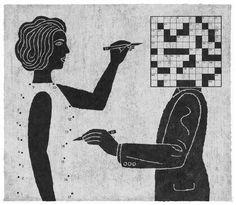Essa ilustração é sensacional. Com uma abordagem tão simples consegue passar um contexto tão complexo quanto a mente   humana. Não sei se pode generalizar, mas pelos meus 18 anos de vivência, infelizmente vejo isso como a mais pura verdade. Mulheres tentando procurar desvendar e se encaixar no conceito do homem e, homem (instintivo ou não) vêem mais o físico e o que lhes agradam na mulher, do que a alma feminina. Meu ponto de vista pode estar errado, contudo, ou sendo de outra perspectiva…